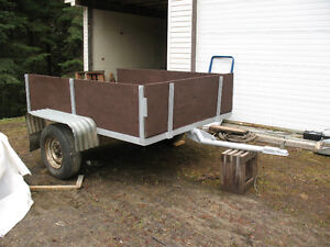 6'x 8' heavy duty utility trailer