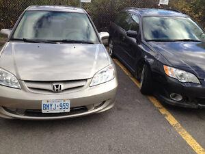 2005 Honda Civic Dx Sedan Gatineau Ottawa / Gatineau Area image 3