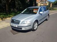 2008 Skoda Octavia 1.9TDI PD Elegance Estate 6 Speed Manual Silver 12 Months MOT
