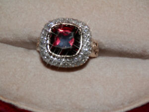 Garnet & Diamonds