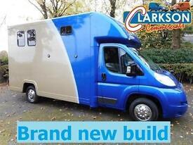 Citroen Relay LWB with brand new 'John Oates' horsebox conversion