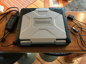 i5 Panasonic Toughbook Laptop Computer with Marine Charts