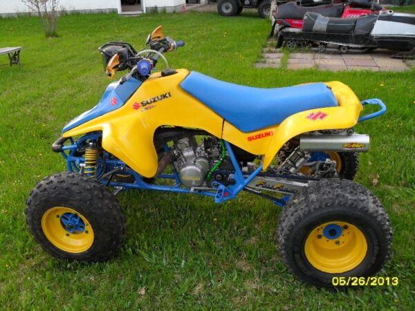 suzuki quad racer for sale canada