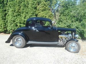 1933 Chevy, 5 Wwindow Coupe