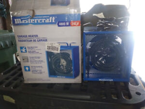 Mastercraft Garage Space Heater