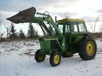 John Deere 4020 w/loader
