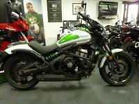 Kawasaki Vulcan S Cafe Pearl Blizzard White Brand Nw Pre Registered