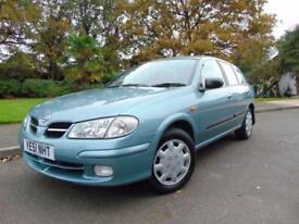 2001 NISSAN ALMERA 1.5 ACTIV BRAND NEW MOT DRIVES BEAUTIFULLY LOVELY CONDITION
