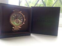 Michael Kors Sawyer Rosé Gold Authentic Watch