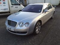 2007 57 BENTLEY FLYING SPUR 6.0 CAT D REPAIRABLE