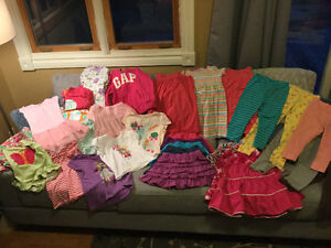 LOT of Size 5 Girls Clothes - Over 50 items!