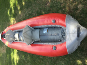 Inflatable, self baking Kayak by AIRE