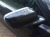 BMW e46 coupe manual fold mirrors sapphire black