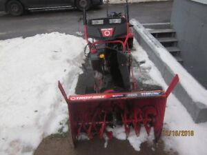 11 hp Snow Blower on tracks for sale