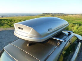 Car roof box and bar hire in the Staffordshire area, collection or delivery, seven days a week