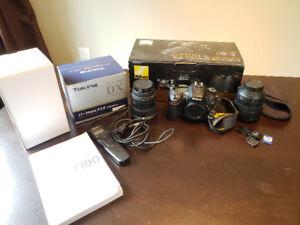 Nikon D7100 with AF-S Nikkor 18-105mm