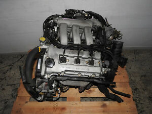 JDM KLZE KL-1A1 DOHC 2.5L V6 CURVED NECK ENGINE MAZDA MX6 MX3