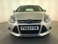 2013 FORD FOCUS ZETEC TCI DIESEL HATCHBACK S/S £20 ROAD TAX SERVICE HISTORY