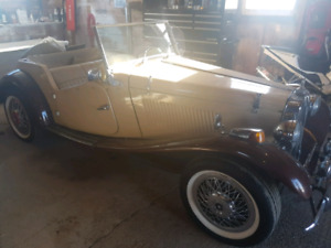 1952 MG TG Replica Car
