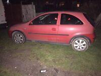Vauxhall corsa sxi cdti 2006 and ford ka 52 plate
