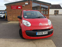 2008 Citroen C1 1.0i PETROL Vibe PX WELCOME BLACK FRIDAY SAVE 300£