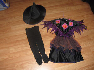 Size 2-3 Witch Costume (no tights)