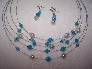 2 Pc. Necklace and Earing Sets