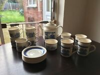 Staffordshire Tableware Tea Set