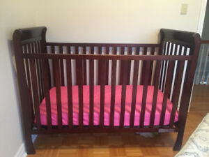 Moving Sale! Reduced!! Sturdy Crib and Mattress for sale