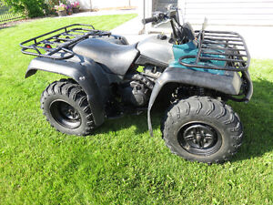 400cc Yamaha Grizzly full-time-4x4