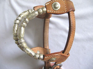 Western Bridle + Reins 2 Ear Silver Set Saddles + Tack For Sale London Ontario image 7