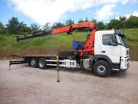 7.5T Hiab Truck for HIre with hiab
