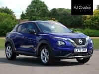 2020 Nissan Juke DIG-T N-CONNECTA DCT Automatic Hatchback Petrol Automatic