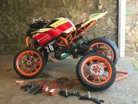 KTM390 Junior Cup track bike