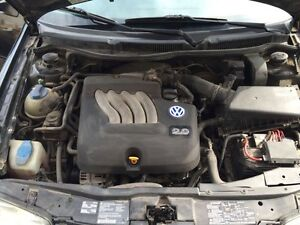 01 Volkswagen Jetta with safety and emission