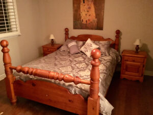 Pine Cannonball Bed | Kijiji in Ontario. - Buy, Sell & Save with ...