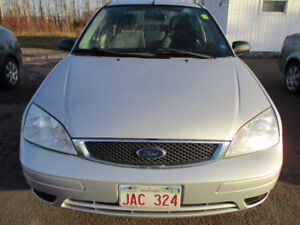 2007 Ford Focus zx5 Sedan,Lic And Inspected.