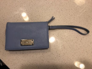 Tiffany Blue Wristlet- Nine West