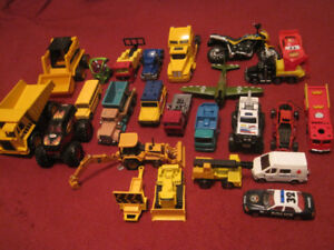 Cars and truck toys