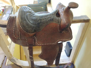 Two Western Saddles for Sale