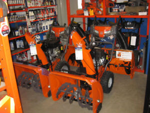 SALE on Snow Blowers and Snow Thrower Attachment in-stock