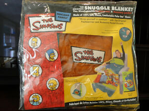 Brand New Homer Simpson Snuggle Blankets -Two Designs $29/ea Kitchener / Waterloo Kitchener Area image 6