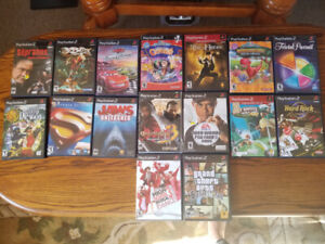 Playstation 2  Games......gently used....5.00 each