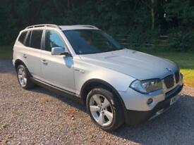 BMW X3 2.0 DIESEL SPORT CHEAP JEEP 2007 NEW MOT **