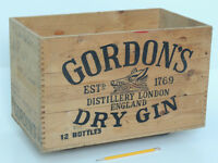 GORDON'S London Dry Gin crate