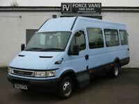 IVECO DAILY 45C14 17 SEATER 17S DISABLED ACCESS WELFARE MINIBUS COACH VAN BUS