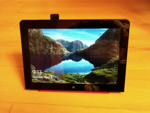 Lenovo Thinkpad Tablet 10 with quickshot cover and BT Kbd