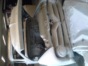 1955 Ford F100 project vehicle rust free