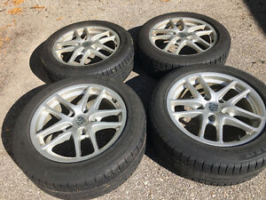 "Porsche OEM 17"" Winter Wheels and Tires"