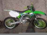 Kx 125 2002 not rm cr yz kxf crf rmz
